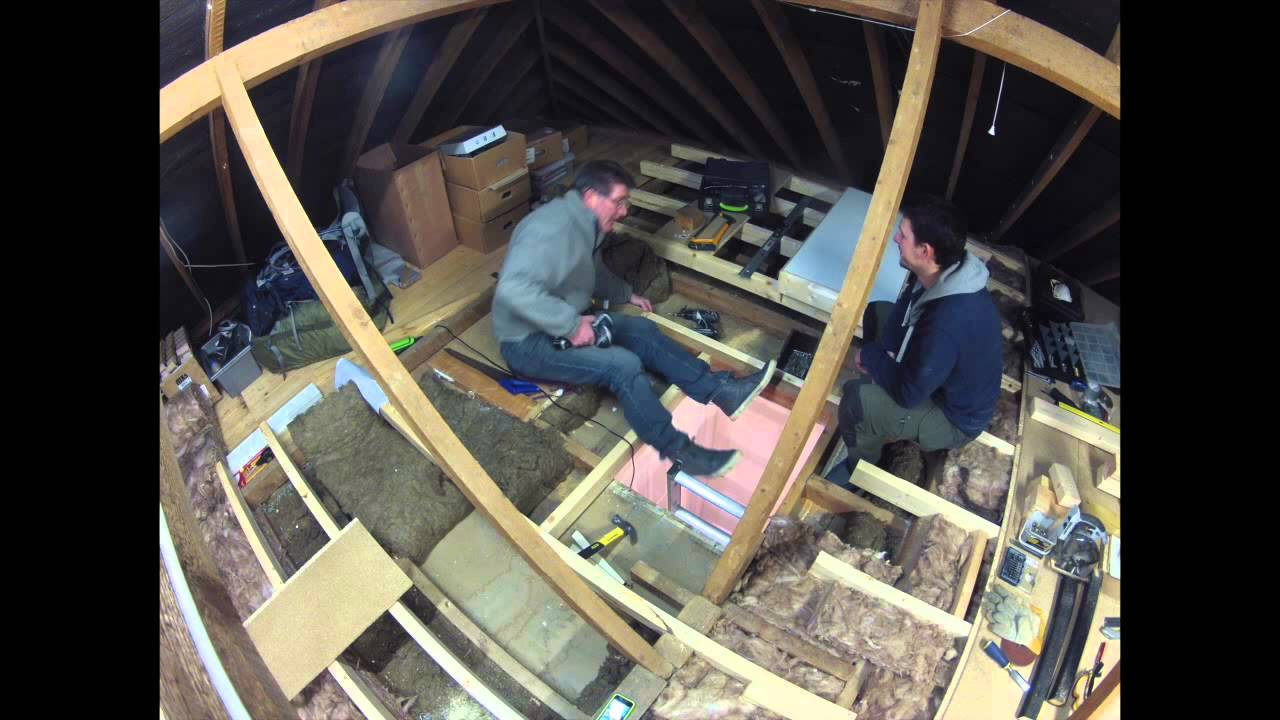 Diy Loft Attic Boarding Insulation Storage Space