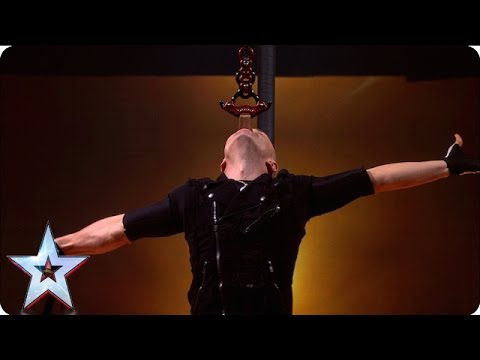 Alex Magala is back with added danger | Semi-Final 2 | Britain's Got Talent 2016