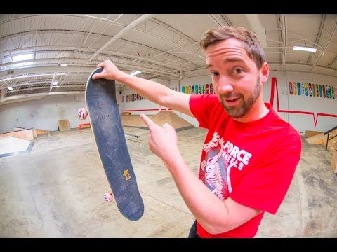 First Day Skating Trick ANYONE CAN LEARN! / The Acid Drop