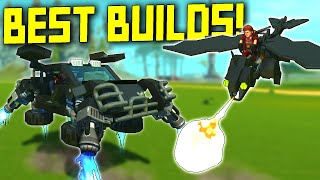 Mind-Blowing Transformers, Flying Dragon, and More of YOUR BEST BUILDS! - Scrap Mechanic Gameplay