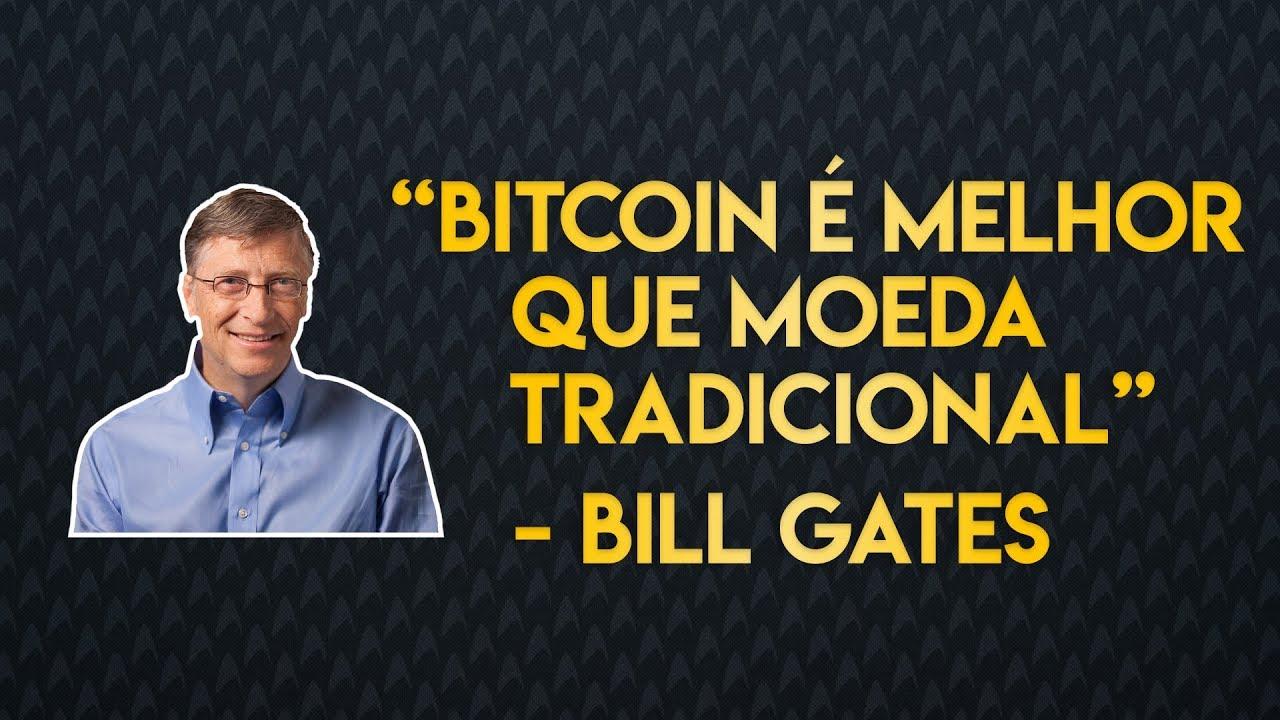 Bill Gates E Experts Falando Sobre O Bitcoin