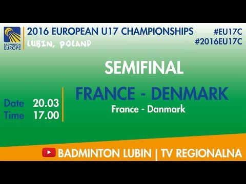 #2016EU17C Lubin - SF - FRANCE - DENMARK