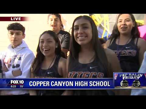 Pep Rally Friday: Copper Canyon High School