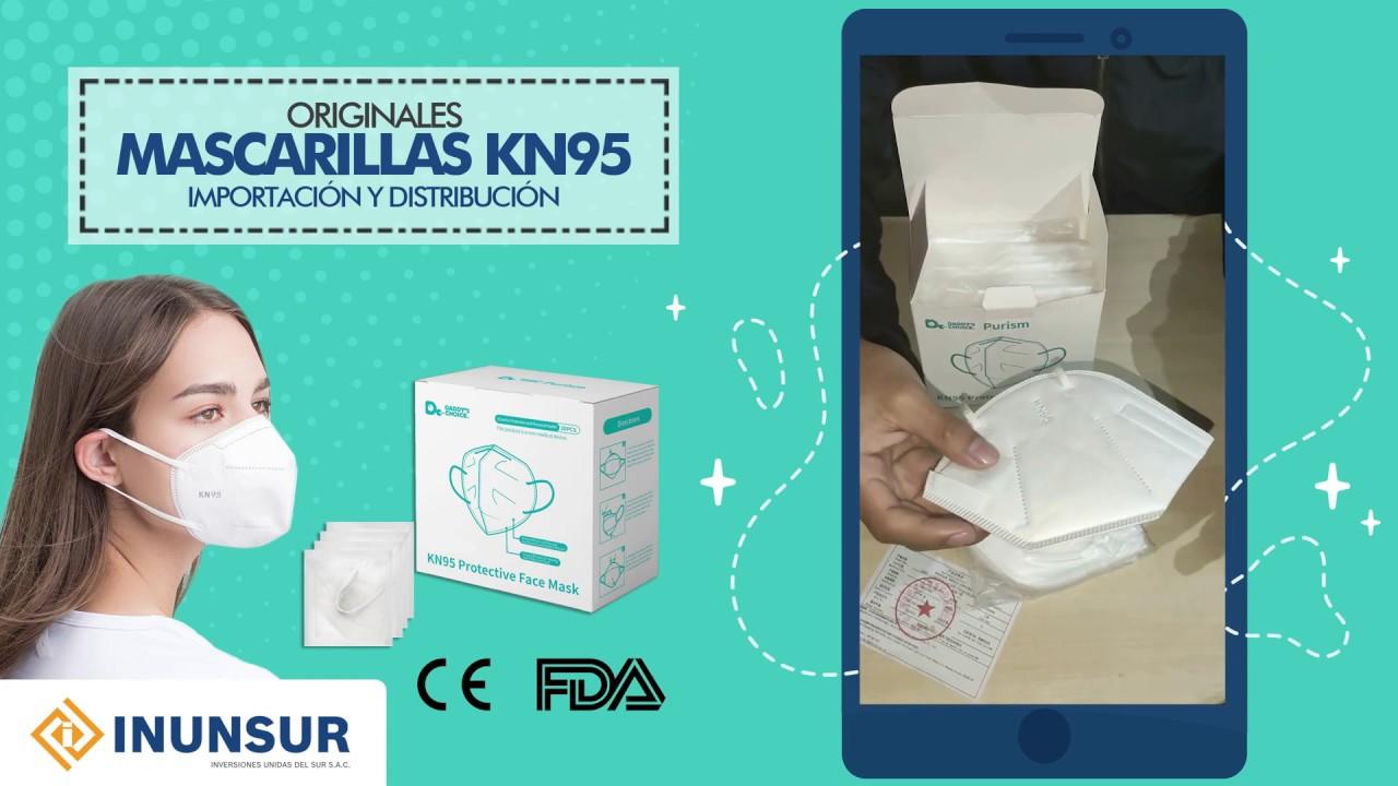 Download Mascarilla KN95 Originales - Características y como Verificar los Certificados FDA y CE