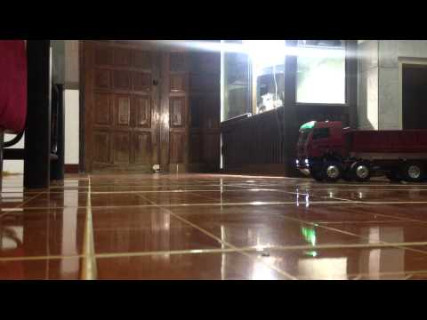 Test run รถดั้มบังคับ 12 ล้อ By Pae Rcubon