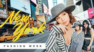 New York Fashion Week feat: Maureen Wroblewitz   Kryz Uy