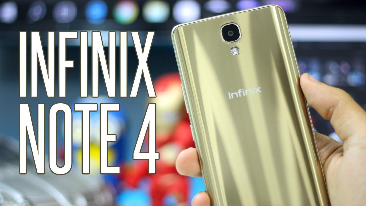 مميزات وعيوب انفينكس نوت ٤ Infinix Note 4 Review Youtube