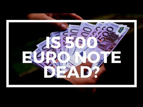 Axing 500 Euro note, the latest capital controls from the ECB and the war on cash