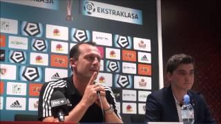 Konferencja po meczu Piast - Legia