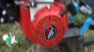 мотоблок КРОТ. Замена двигателя на лифан. A converted cultivator. Engine change