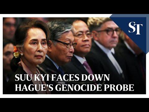 Suu Kyi faces down Hague's genocide probe