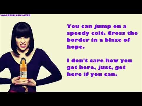 Jessie J & Jools Holland - Get Here - Lyric Video