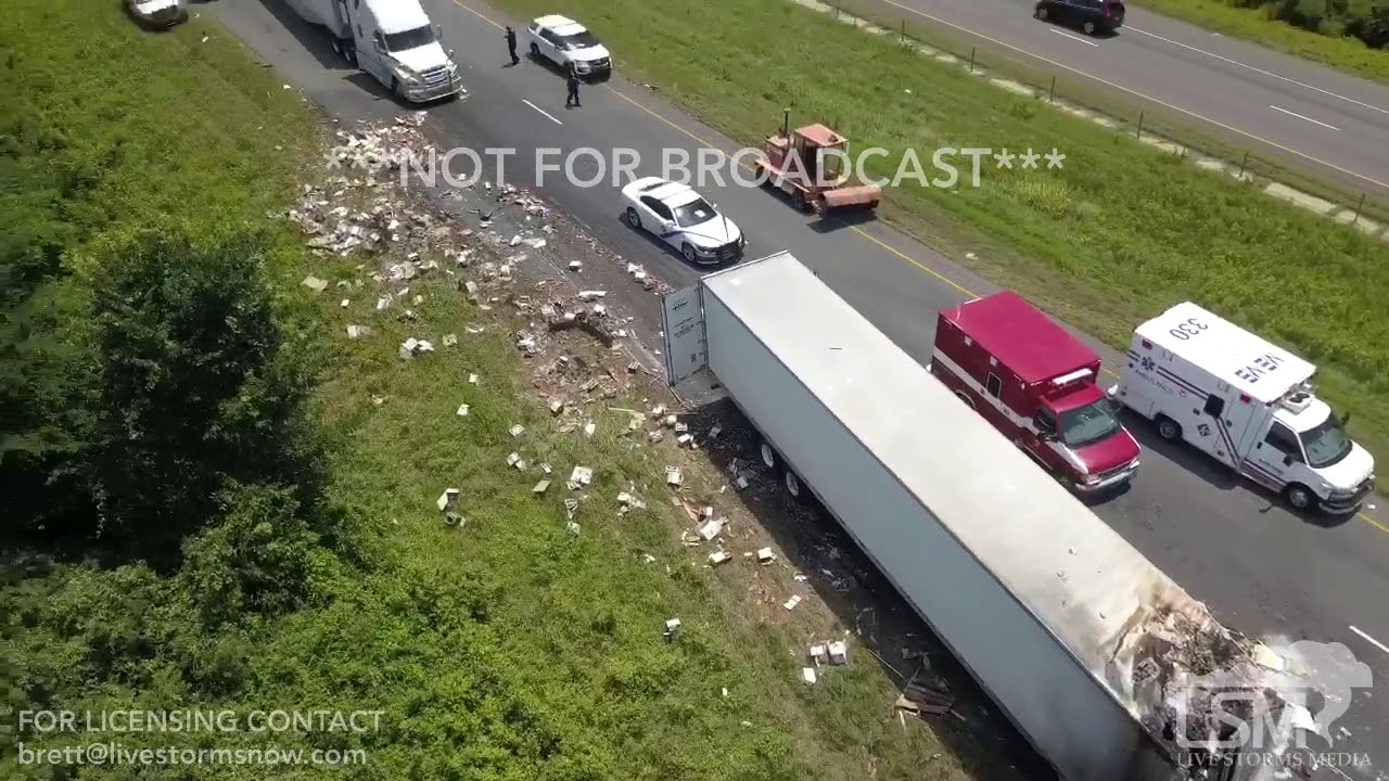 06-14-2018 Galloway, AR - Drone I40 Fireball Whisky Accident