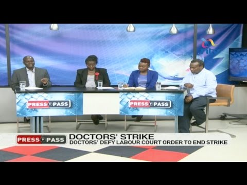 Presspass: Are the doctors stubborn on the CBA issue or is the government insincere?