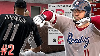 1st Dynamic Challenges in our 1st Professional game - MLB The Show 19 Road To The Show!