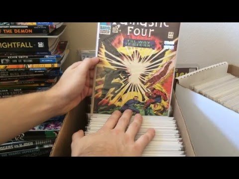 Store Sale Haul Part 1 Silver and Bronze Comics - Batman! -
