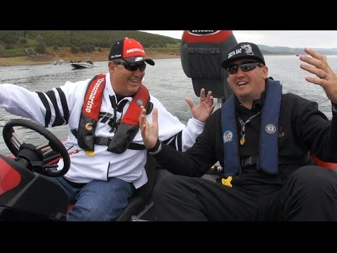 Bass Fishing Pardee Lake, Media Day 2014