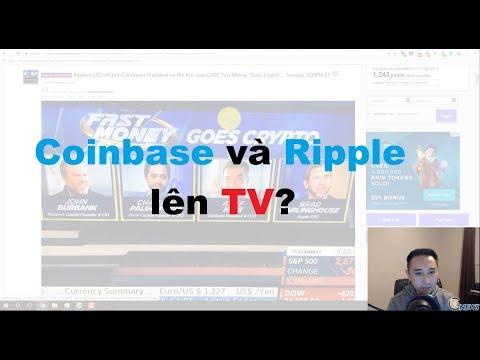 5/3 - Thị Trường / BTC / Stellar tăng / Telegram ICO / Nhật Bản quản lý Crypto / Ripple và Coinbase