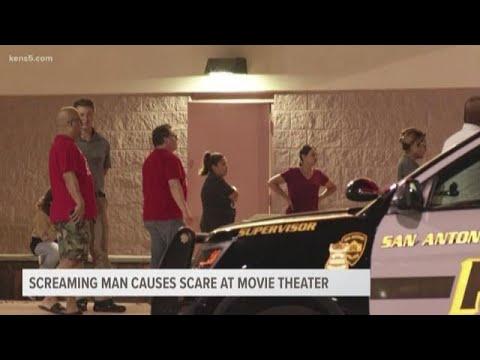 Screaming Man Causes Scare At San Antonio Movie Theater