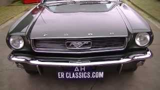 Ford Mustang Coupe 1965 V8 4700CC restored -VIDEO- www.ERclassics.com