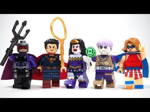 LEGO DC Super Heroes Ocean Master Minifigure 76116 Mini Fig