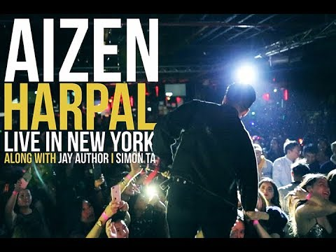 Aizen - Harpal ( Official Live In New York at 4 Play )