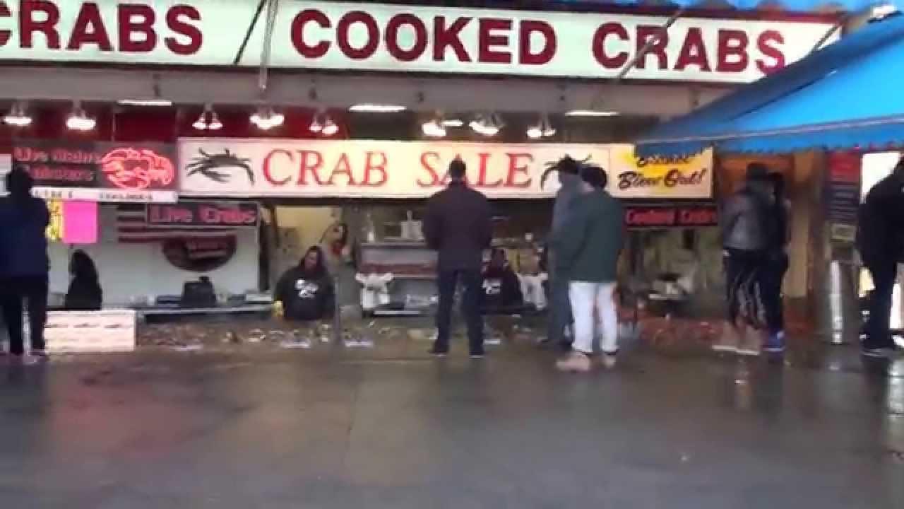 Washington dc marina seafood market feb 2015 youtube for Washington dc fish market