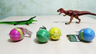 Динозавры игрушки вылупляются из яйца.Видео про динозавров.Dinosaurs toys eggs.Video about dinosaurs