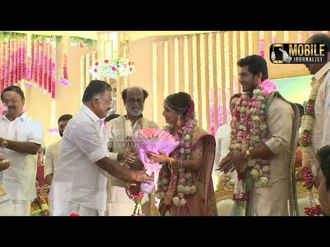 Rajinikanth's Daughter Soundarya Married Video | OPS.EPS |Rajinikanth Daughter Married