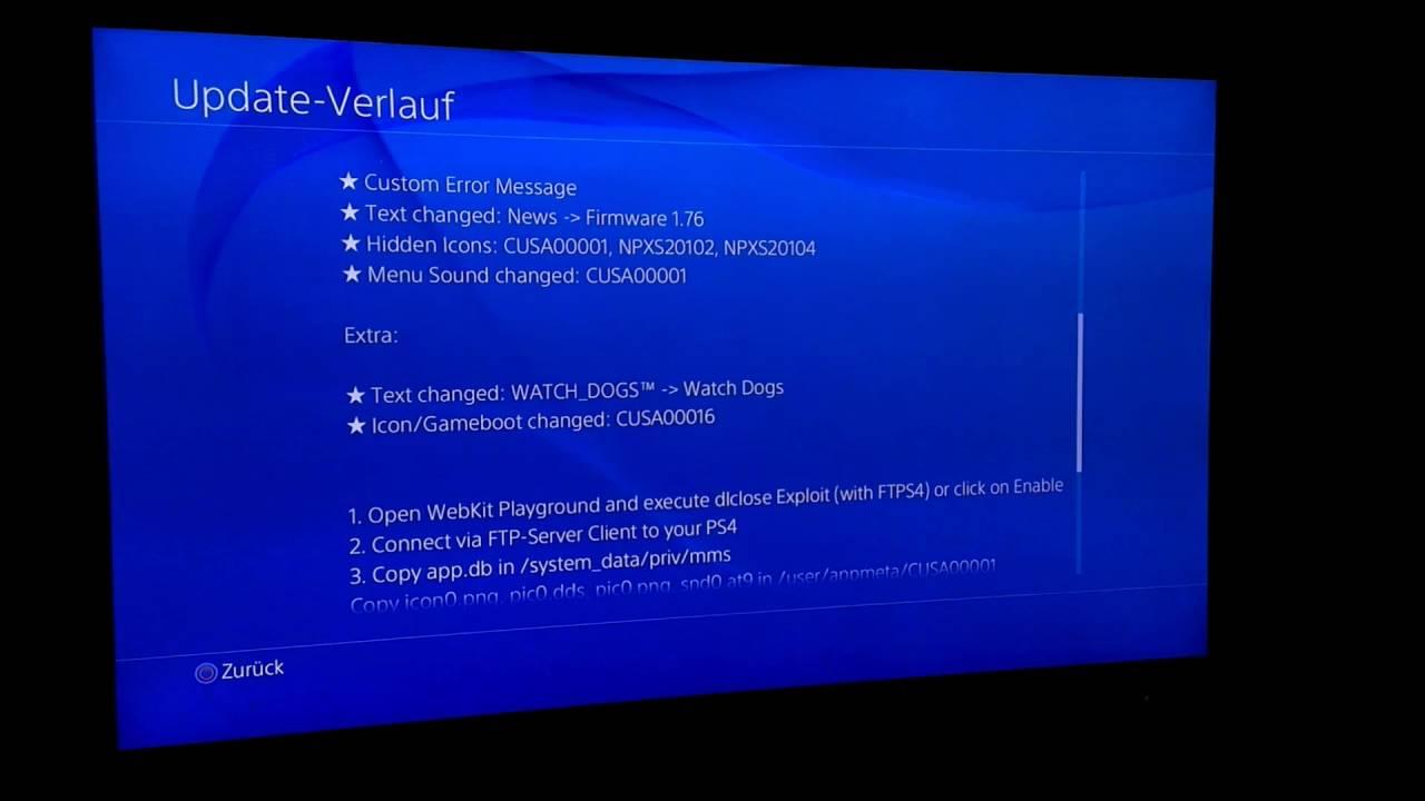 Playstation 4 xmb menu
