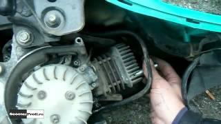 Как увеличить мощность 50 кубового скутера Ямаха Джог, не снимая двигатель