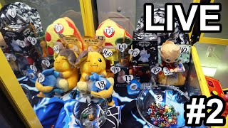 Do the DICE want YOU to win?! #2 - Live Claw Machine