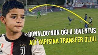 REKOR TEKLİF!! Juventus Altyapısı İçin Çılgın ve Yüksek Becerilere Sahip Ronaldo'nun Oğlu
