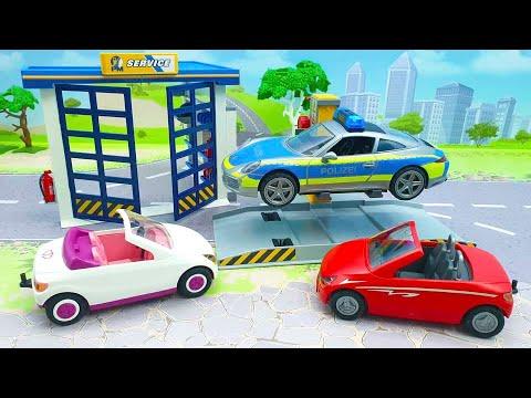 Мультики про машинки смотреть онлайн - Мультфильм для детей с игрушками Плеймобил - Ценность вещей.