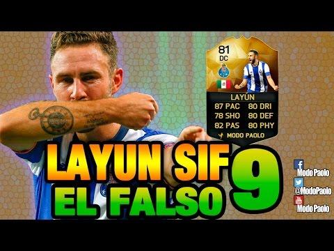 EL FALSO 9   LAYUN SIF DC - ST   FIFA 16    Modo Paolo