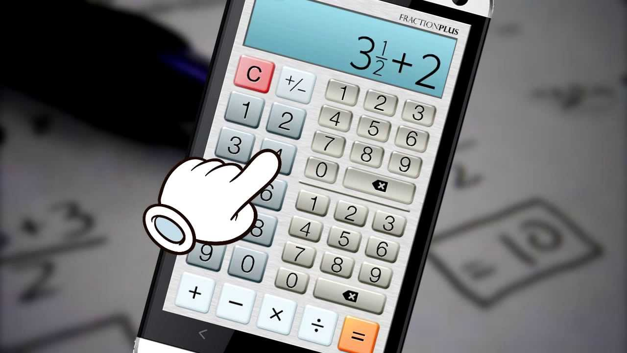Fraction Calculator Plus for Android - YouTube