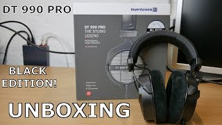 [Unboxing] | Beyerdynamic DT 990 Pro Limited Black Edition | TecUnboxing | deutsch | 4K