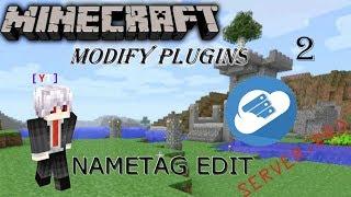 NameTagsEdit tutorial [Modify Plugins]