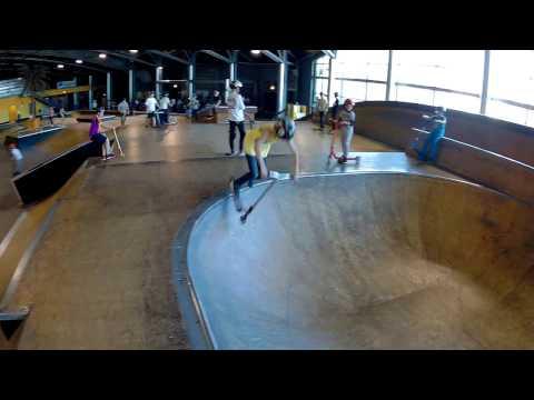 video au skatepark de marseille