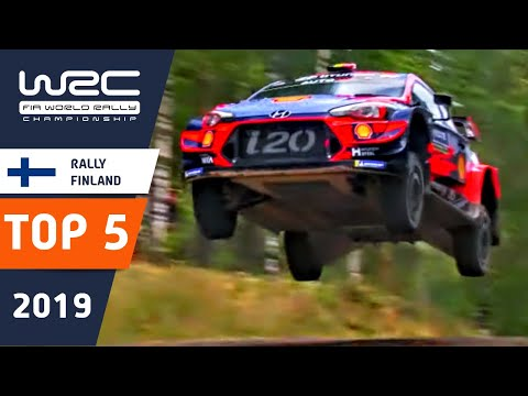 WRC - Neste Rally Finland 2019: TOP 5 Moments