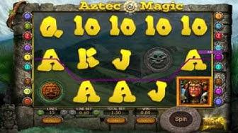 Free Aztec Magic slot machine by SoftSwiss gameplay ★ SlotsUp