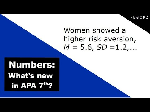 Numbers In Text APA 7th Edition: What Has Changed?