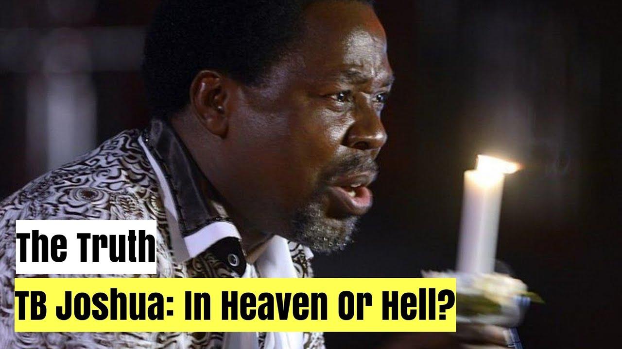 Stop Lying That TB Joshua Is In Heaven?