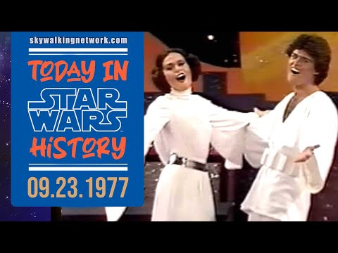 TODAY IN STAR WARS HISTORY: 9/23/1977 - Star Wars on the Donny and Marie Show
