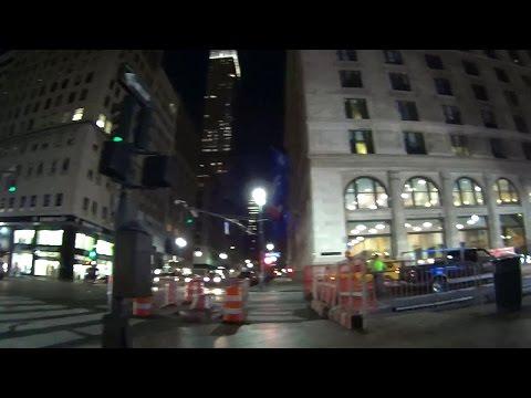 Walking at Night in Manhattan 7.29.15