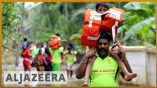 🇮🇳 Kerala floods 2018: Kerala faces massive flood in 100 years | Al Jazeera English