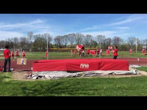Track meet at grosse ile high school
