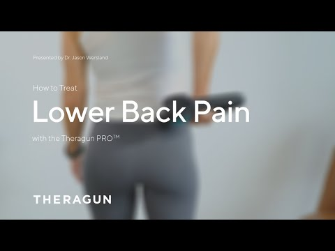 How To Treat Low Back Pain with your Theragun
