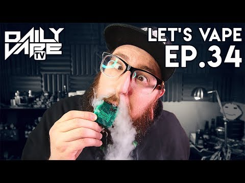 Let's Vape Ep. 34 - Tennessee CBD Busts ~ E-Juice Pack Unboxing!