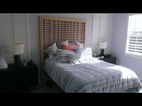 Bed Headboard Project